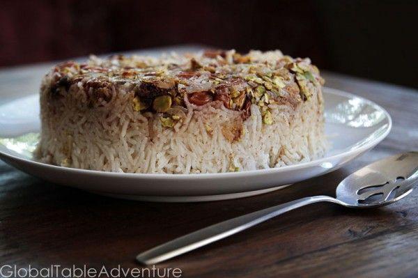 Persian Sour Cherry Rice   Recipe