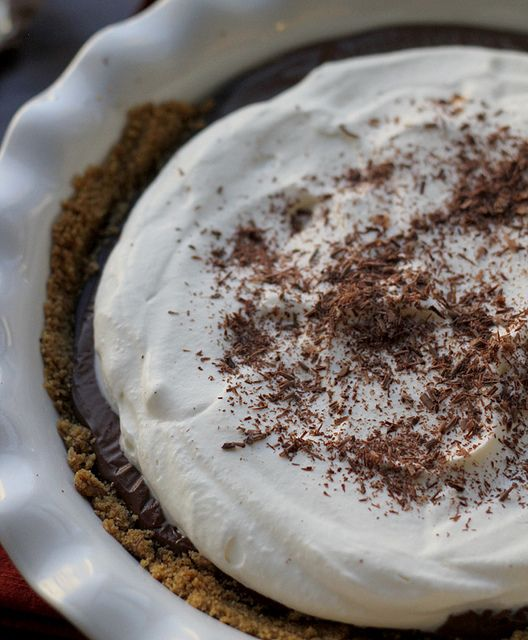 Chocolate Pudding Pie by eatswellwithothers, via Flickr