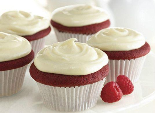 Red Velvet Cake With Vanilla Cream Cheese Frosting http://wm13.walmart ...