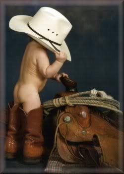 Baby Cowboy.  So cute.