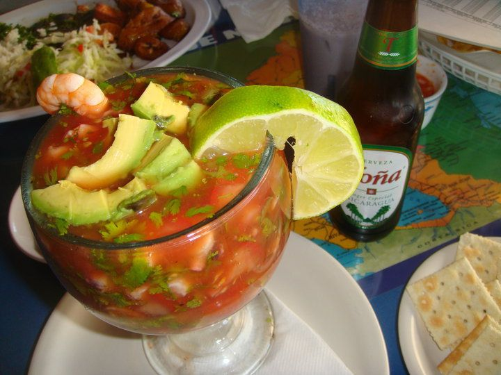 coctel de camarones | Mexican & Latino food | Pinterest