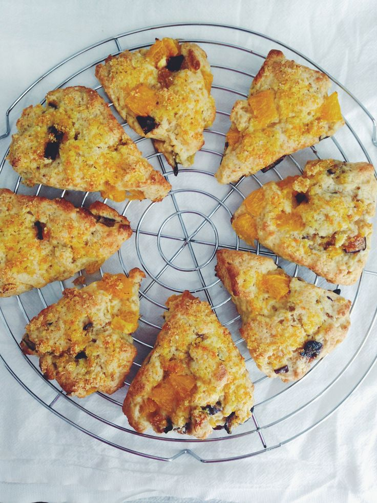 Fresh orange, fig and yogurt scones | Breads. | Pinterest
