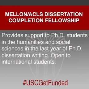 humanities dissertation fellowship