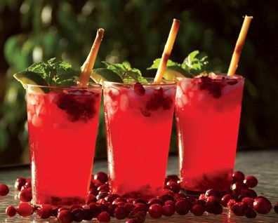 Cranberry_Mojito | Recipes I want to try | Pinterest