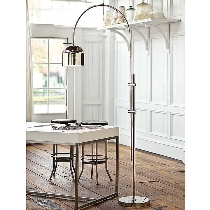regina andrews arc floor lamp my living room redo pinterest. Black Bedroom Furniture Sets. Home Design Ideas