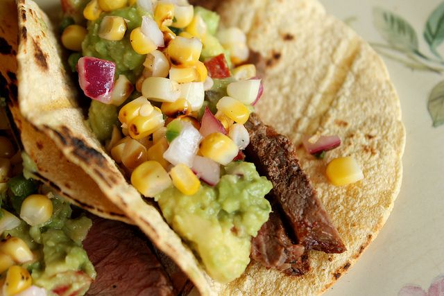 Grilled Steak Tacos by Eat Your Heart Out