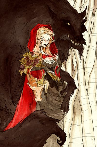 Big bad wolf little red riding hood