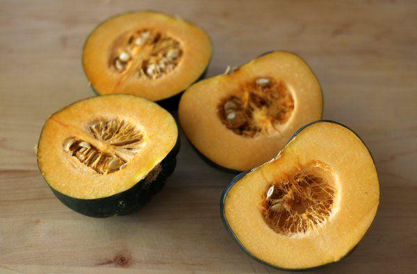 Maple Roasted Acorn Squash | On The Side | Pinterest