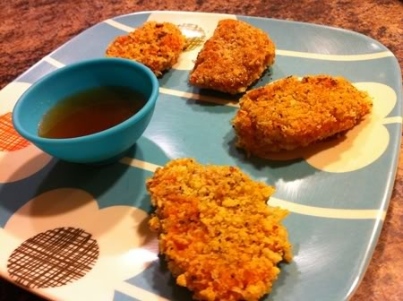 Sweet Potato Nuggets with Apple Cider Dipping Sauce | Recipe