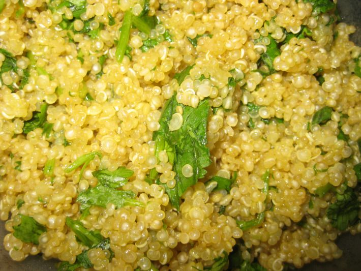 PALEO Quick Cilantro Quinoa Side Dish | Side Dishes | Pinterest