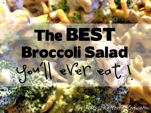 The Best Broccoli Salad You'll Ever Eat | Recipe