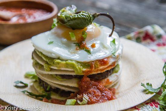 Guacamole Breakfast Stacks | Recipe