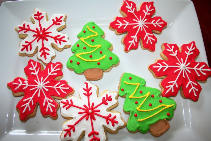 Sugar Cookies - Decorated for Christmas | Food | Pinterest