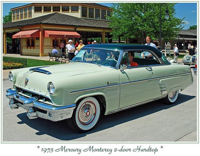 1953 mercury monterey 2 door hardtop vintage classy