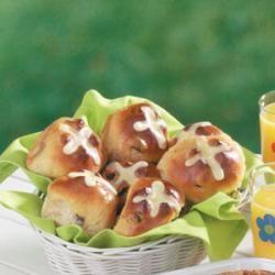 Pull-Apart Hot Cross Buns | Recipe