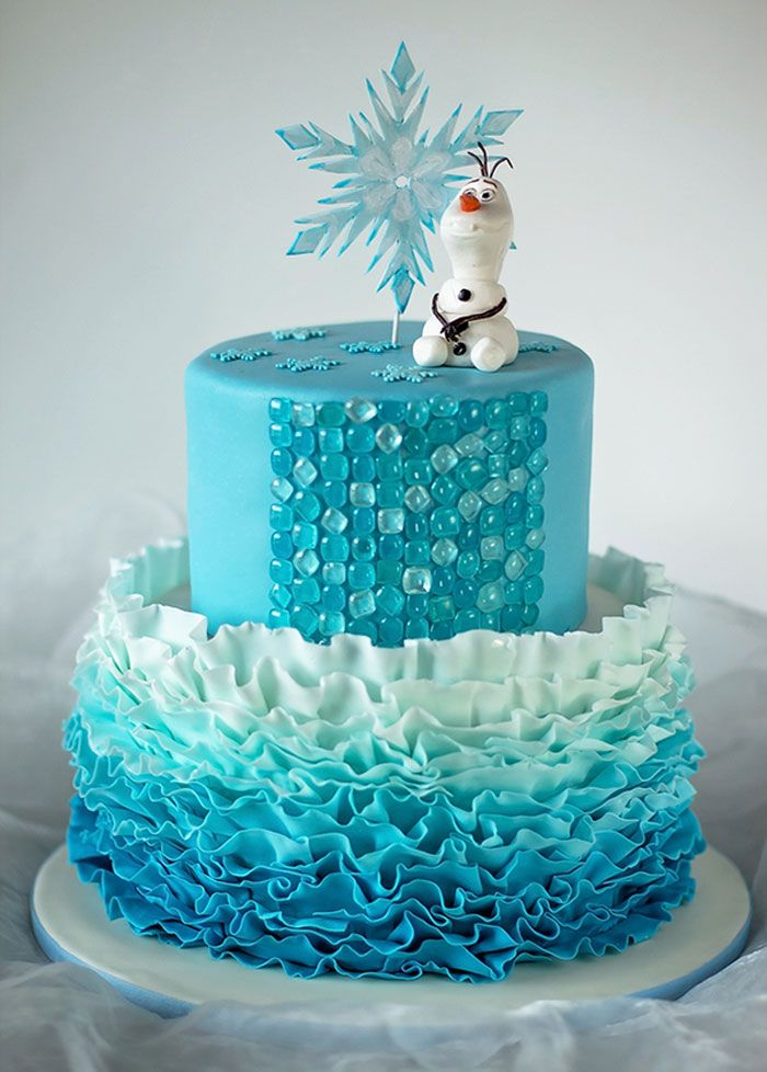 Images Of Frozen Cake Toppers Dmost for