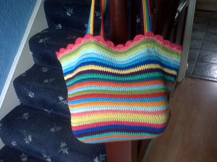 Crochet Bag Crochet ideas Pinterest