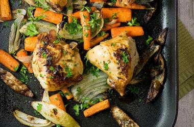 Roasted Dijon Chicken — Punchfork | Munches | Pinterest
