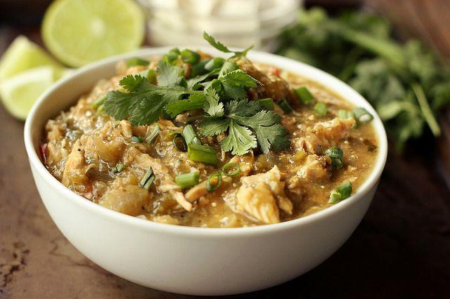 Slow Cooker Chicken Chile Verde - Gluten-free, Dairy-free, Paleo ...