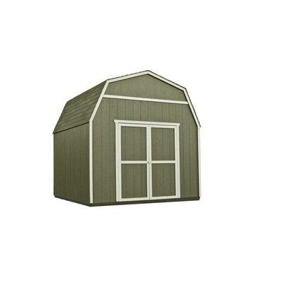 Heartland rainier 10ft x 10ft wood storage shed plans