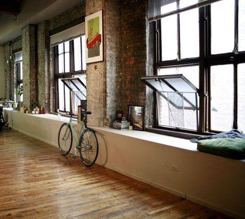 Warehouse apartment loft living pinterest - The apartment in the warehouse ...