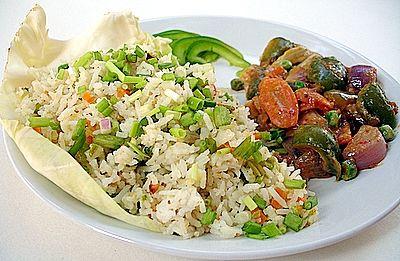 peanut flavored vegetable fried rice & Stir Fried Vegetables In Peanut ...