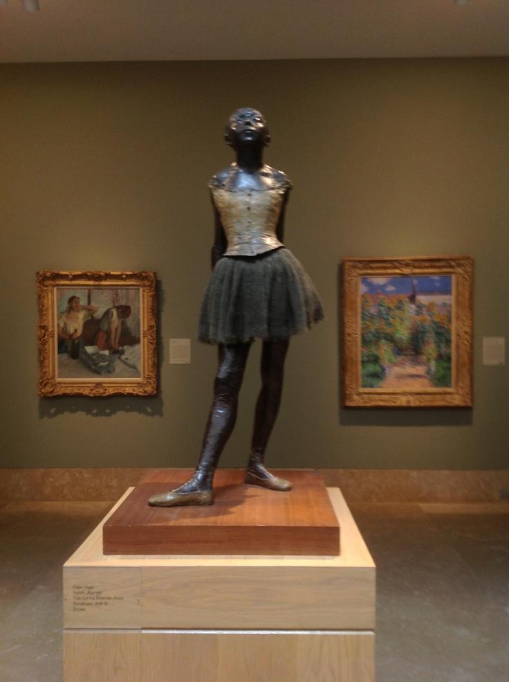 Ballerina Sculpture Norton Simon Edgar degas ballet dancer sculpture ...