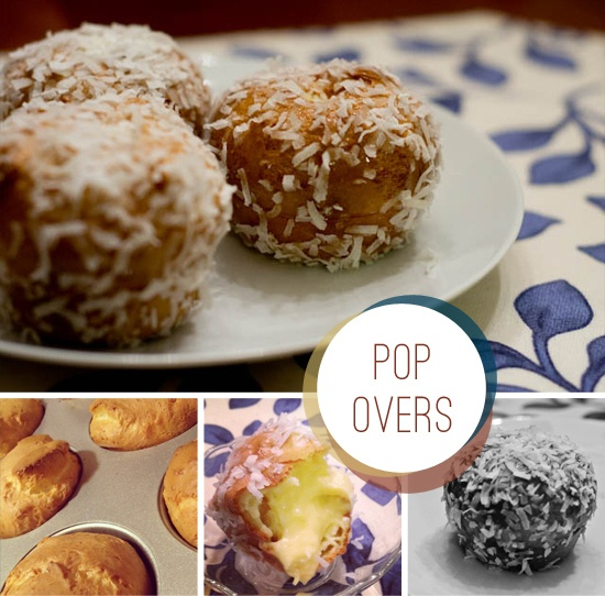 Gluten-free Coconut Cream Filled Popovers with Honey Glaze | Recipe