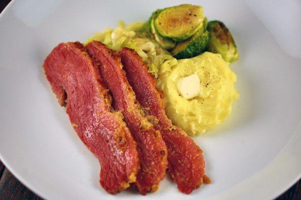 Baked Honey Mustard Corned Beef - Recipes by Jessica Gavin