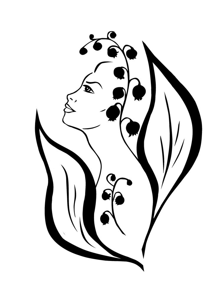 lily of the valley | My drawings | Pinterest