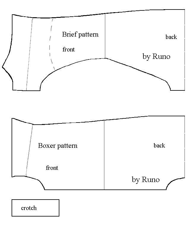 Free Knitting Pattern Dolls Underwear : underwear AG Free Patterns For Dolls Pinterest