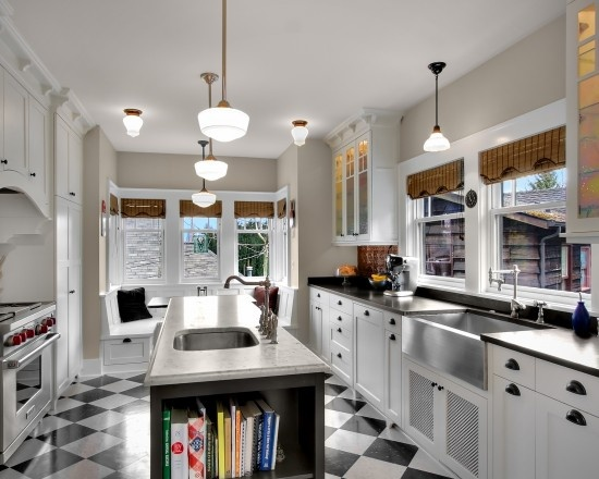 galley kitchen island design kitchens pinterest