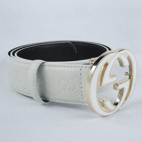 Gucci-Gold-Buckle-Leaher-Belt-White | procucts i love ...