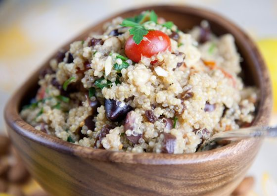 Moroccan-Inspired Quinoa Salad | Easy Vegan Lunch Ideas | Pickles ...
