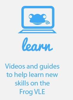 Video & User guides for the Asian FrogOS VLE.