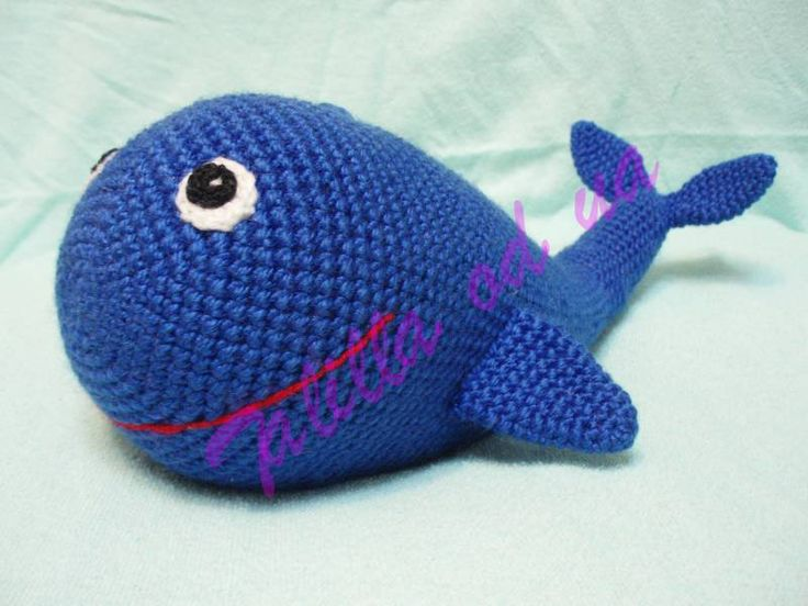 Amigurumi Christmas Ornaments Patterns : Free Amigurumi Crochet Pattern : Whale Crochet Pinterest