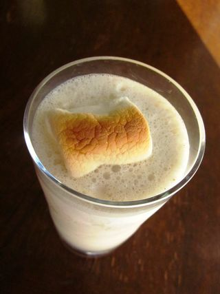 TOASTED MARSHMALLOW SHAKE | Eat Dessert First! | Pinterest