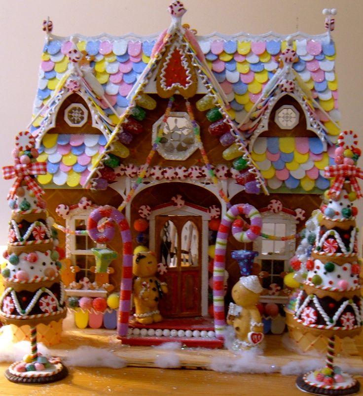 How To Make Fake Gumdrops Gingerbread Houses Pinterest