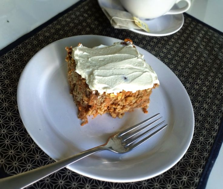Carrot Cake with Maple Cream Cheese Frosting. No empty calories. Sugar ...