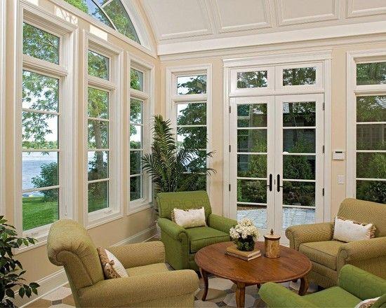 Sunroom Love The Windows For The Home Pinterest