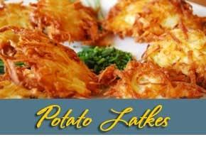 Potato Latkes | Deli-Style at Home | Pinterest