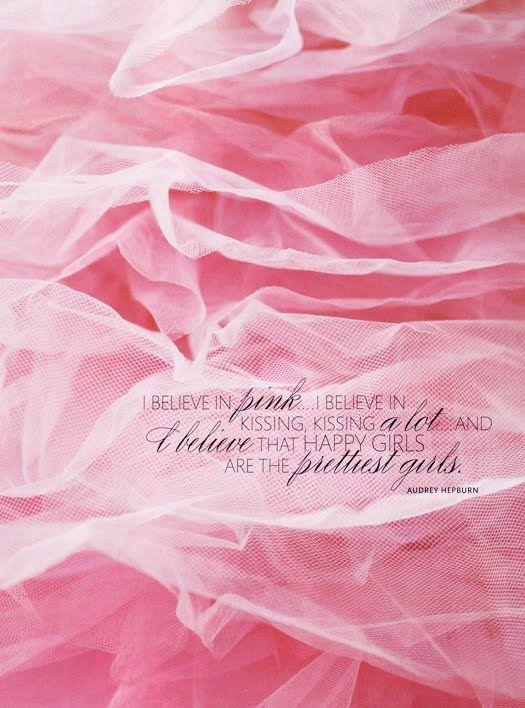 i believe in pink | audrey hepburn