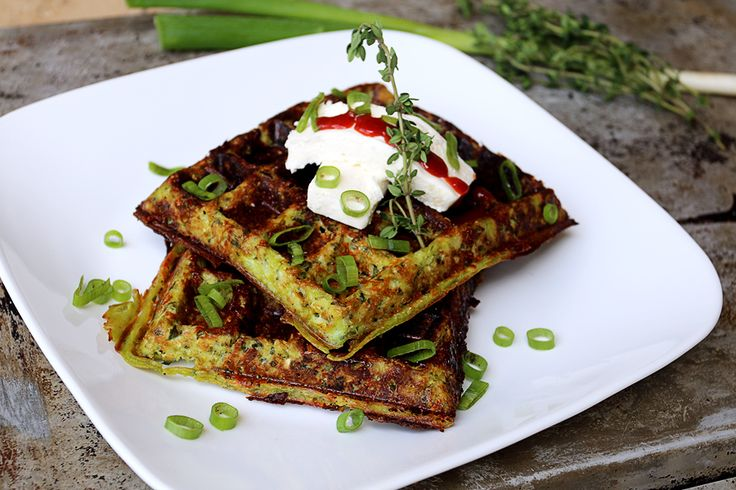 Cheesy Thyme Waffles | Ruled Me | Yummy(and healthy) | Pinterest