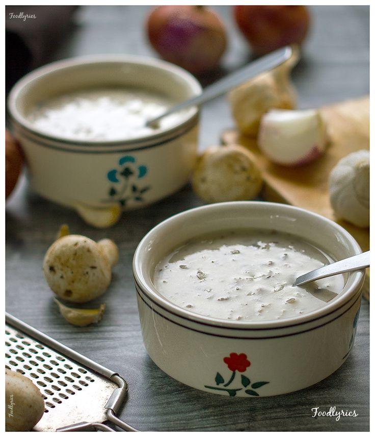 Balthazar's Cream Of Mushroom Soup Recipe — Dishmaps