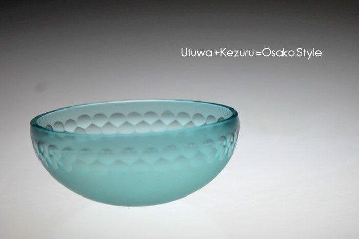 【楽天市場】小春浅鉢(青)サラダボウル・かき氷器・和食器やガラスの器・ガ... Found on