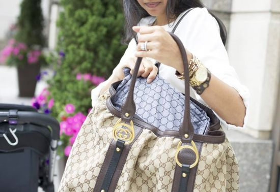 "Now you don't have to feel the ""mommy blahs"" of not being able to carry your favorite designer handbag anymore!  http://coquette.blogs.com/maman/2014/05/quintessential-mommy-baby-bag-organizers.html  #quintessentialmommy #quintstyle #moms #bags #accessories #momstyle"