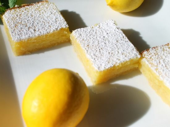 Meyer lemon bars | sweet treats | Pinterest