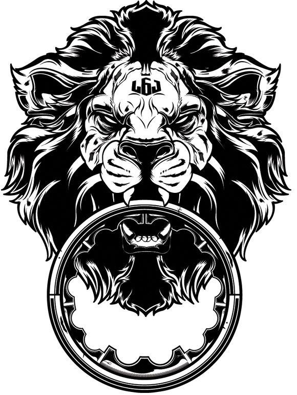 Лев с кольцом в зубах значение тату