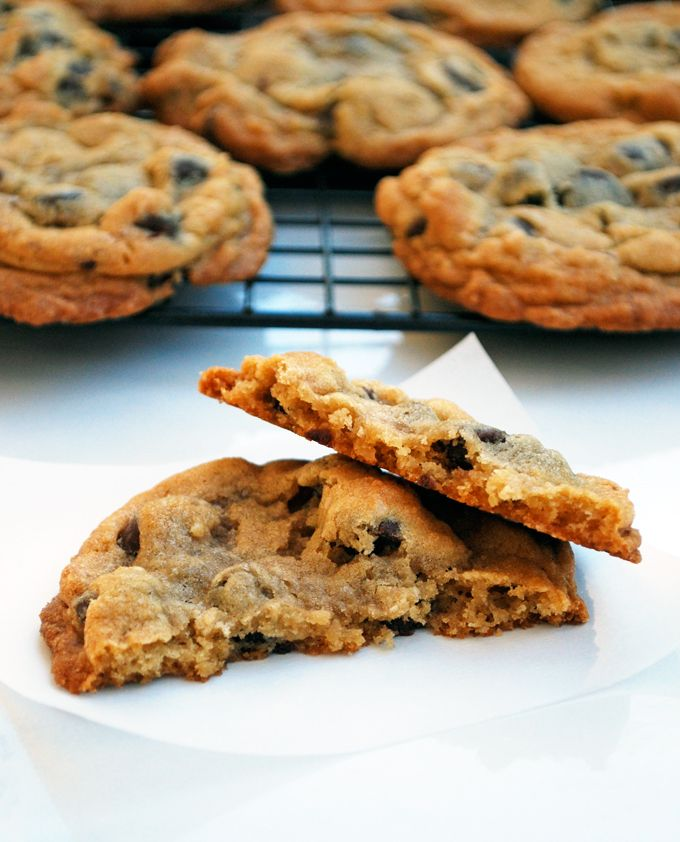 An easier recipe for the New York Times chocolate chip cookie and a ...