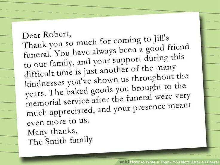 funeral thank you note - solarfm.tk
